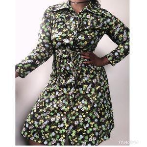 Dresses & Skirts - Vintage 70s floral dress